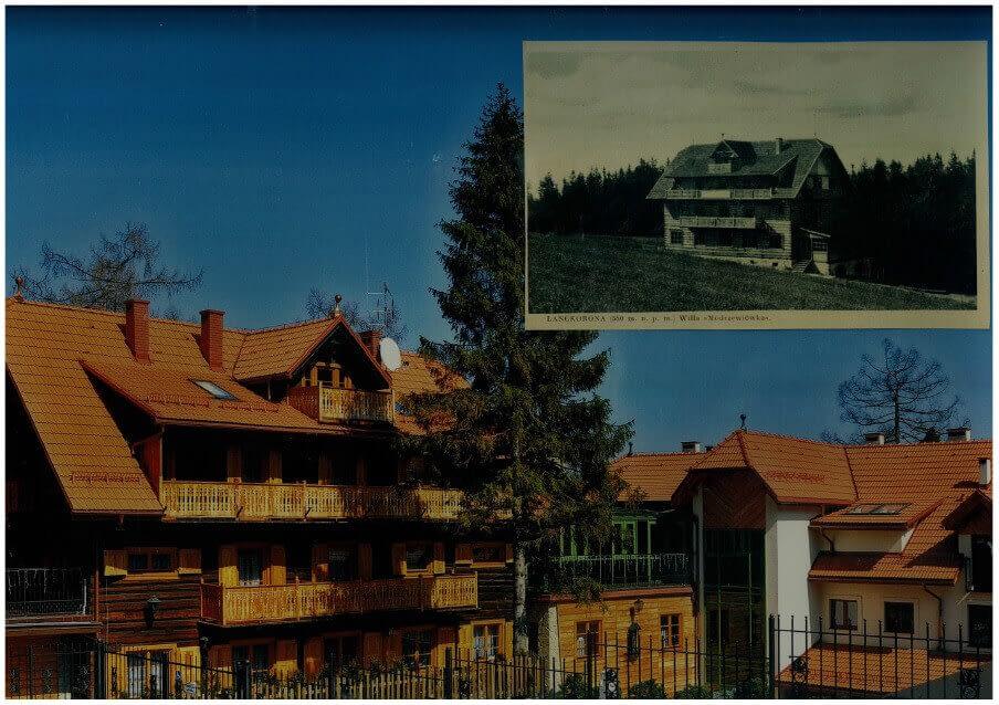 Hotel Modrzewiówka latem