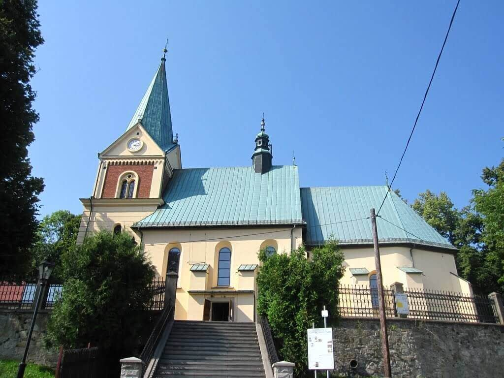 Kościół w Lanckoronie