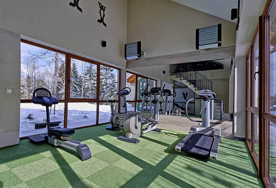 Mini siłowania w hotelu Modrzewiówka